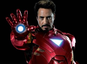 Robert Downey Jr. as Iron Man