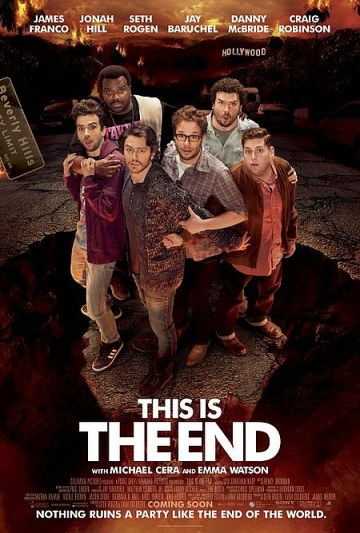 this is the end poster