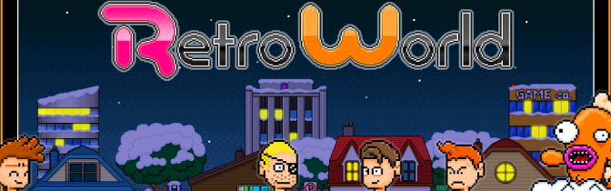 Retro World is a game about… video games