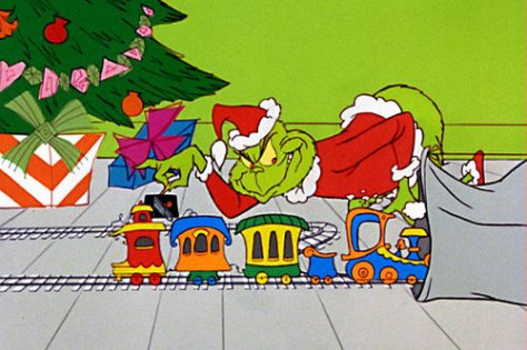 Scene from How the Grinch Stole Christmas