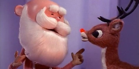 Scene from Rudolph, The Red-Nosed Reindeer © Rankin/Bass, CBS (source)