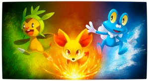 The starter Pokemon in X/Y.
