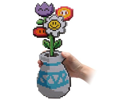 8-bit flowers