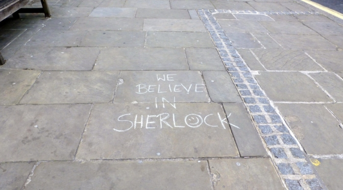 Exactly what was Sherlock, series three?