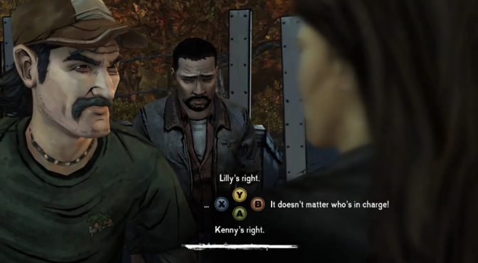 Going With Your Gut Instinct in Telltale Video Games