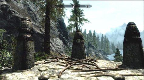 One of the first things you do in Skyrim is choose a Guardian Stone to begin your character's leveling path.