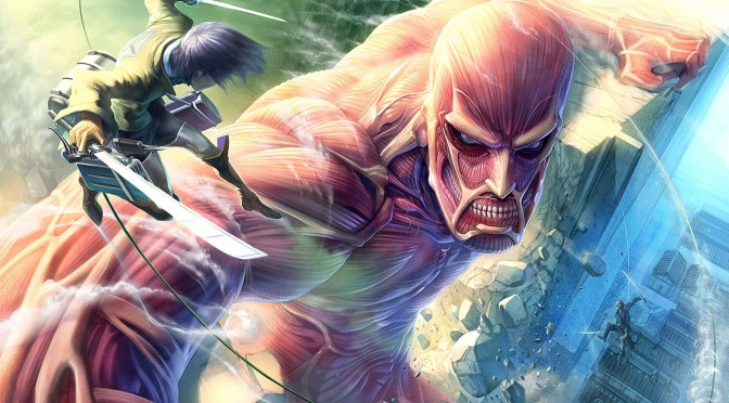 The first English dub clip of Attack on Titan has been released