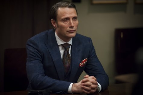 Hannibal blue suit