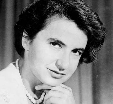 Rosalind Franklin (1920-1958), British chemist. Pioneer molecular biologist.