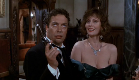 Tim Curry and Leslie Ann Warren in Clue © Paramount Pictures (1985)