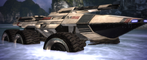 Maneuvering the Mako from Mass Effect is one of the worst vehicles to drive in a game.