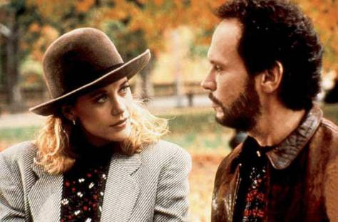 Meg Ryan as Sally (left) and Billy Crystal as Harry (right)