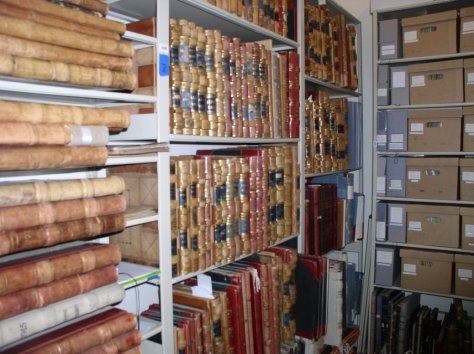 A view of the archives of Alpine County, CA.