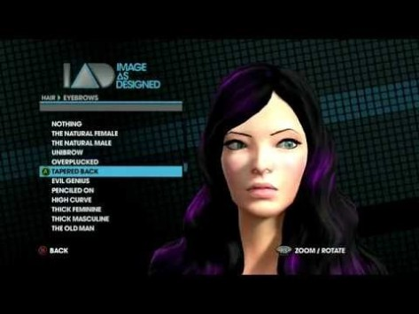 Saints Row has a ton of options to choose from.