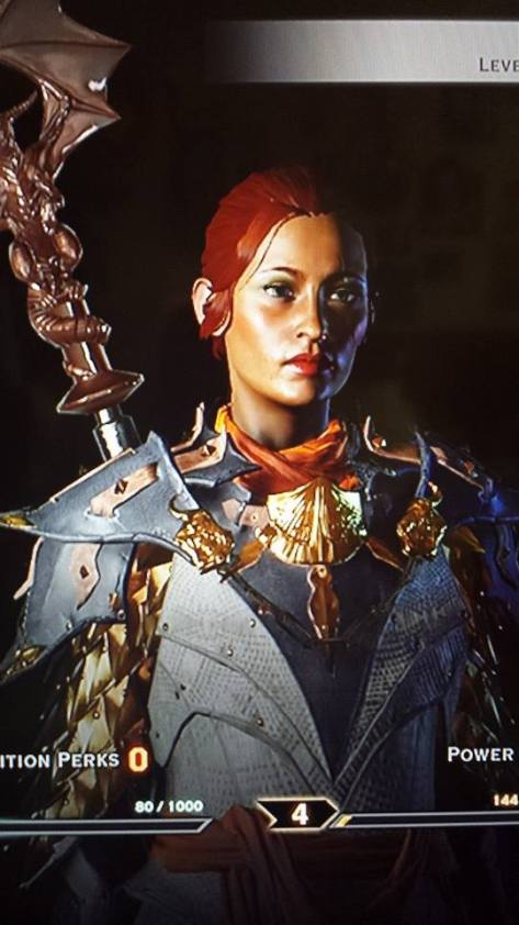 My human mage Inquisitor for Dragon Age: Inquisition.