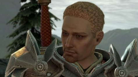 Exhibit B: Cullen in Dragon Age 2 starts to look a bit better but hardly anything remarkable to pay attention to.