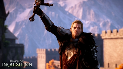 "Exhibit C: Cullen in Dragon Age: Inquisition has my full attention now and me proclaiming, ""Hellooooo Commander!"" When you look this beautiful, how can I ignore that?"
