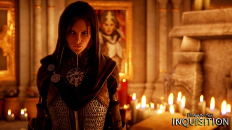 Leliana in Dragon Age: Inquisition.